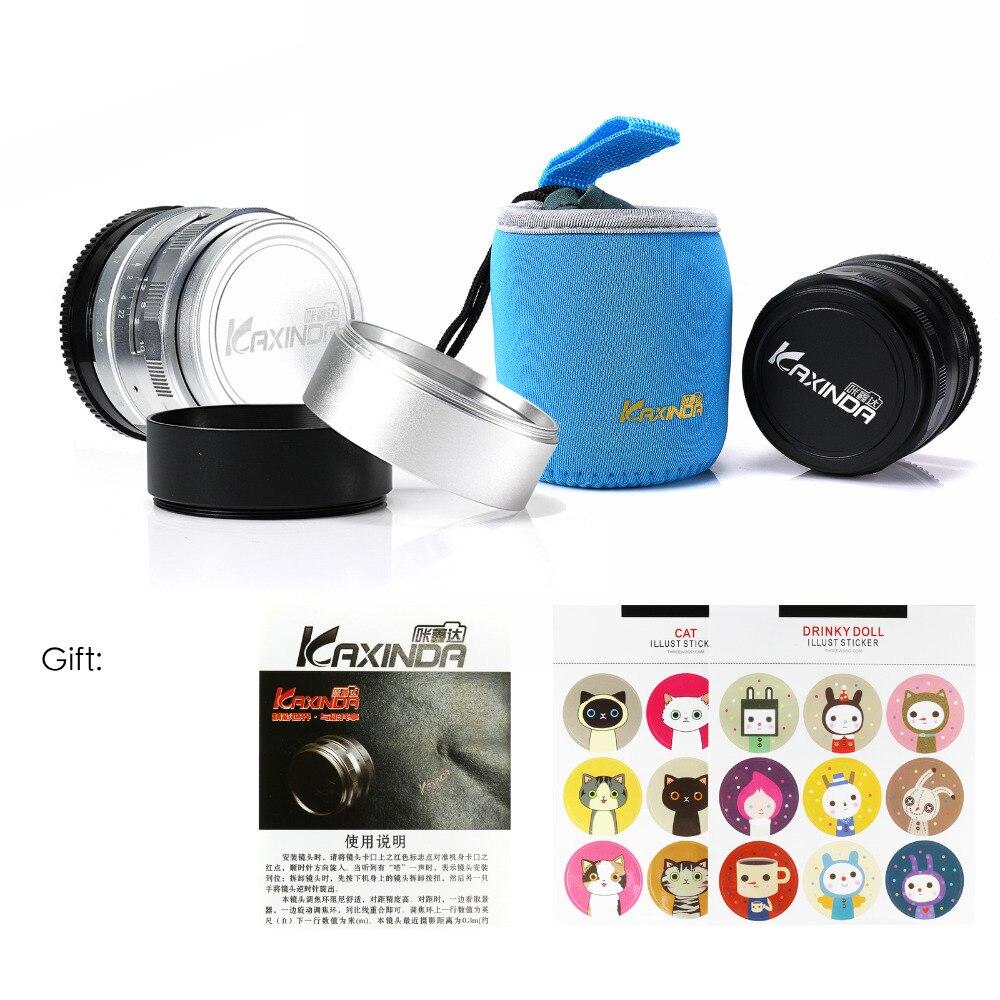 Large apertur 35mm F1.7 Manual Lens for Sony NEX3N NEX5T NEX6 NEX7 NEX-F3 NEX-C3 a3000 a5000 a5100 a6000 Camera silver&hood&gift стоимость