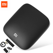 Оригинал xiaomi mi 3 s smart box tv 4 К 64bit android 6.0 bt 4.1 Media Player Quad Core Amlogic S905X Dolby DTS HDMI Приставки