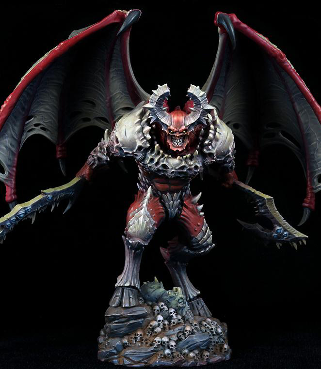 137MM Lord Of Slaughter WITH BASE 137MM Soldier   Toy Resin Model Miniature Resin Figure Unassembly Unpainted