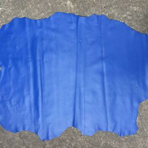 blue Genuine sheep skin leathe