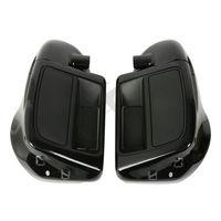 6.5 Speaker Box Pod Lower Vented Leg Fairing Set For Harley Touring FLHT FLHX FLHR Street Glide Ultra Road King