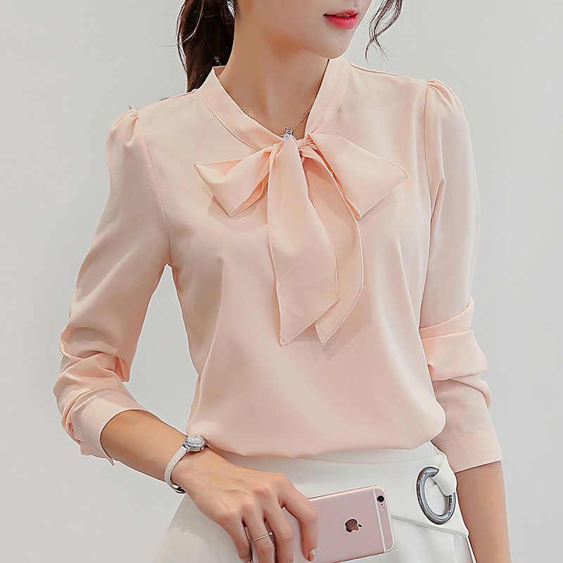 8e29ddb991c Harajuku новый сезон  весна-лето блузка для женщин рубашки с длинными  рукавами Мода Досуг