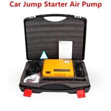 Автомобиль Пусковые устройства 16800 мАч Портативный легче пусковое устройство 12 В автомобиля Зарядное устройство для автомобиля Батарея Дизель Бензин автомобиля Стартер воздуха насос