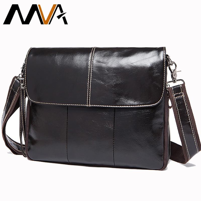 7540328b5787 МVA сумка мужская натуральная кожа маленькая сумка мужская через плечо  сумки мужские ...