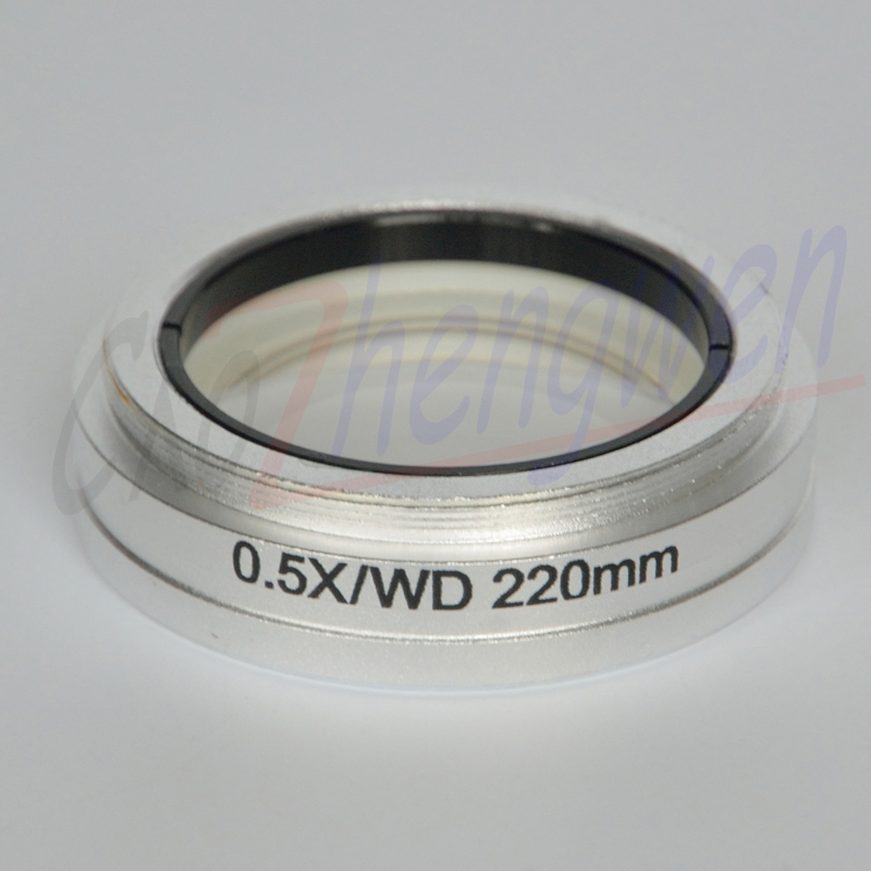 FYSCOPE ST0 5X OBJECTIVE LENS FOR STEREO ZOOM MICROSCOPE OBJECTIVE WD 220mm