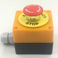Оборудование Лифт кнопка аварийного останова распределительной коробки предупреждение о чрезвычайном происшествии стоп водонепроницаем...