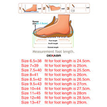 DEKABR New Fashion Summer Shoes Cow Leather Men Sandals Mens Casual Shoes Non-slip Rubber Soles Beach Shoes Plus Size 38 ~ 47