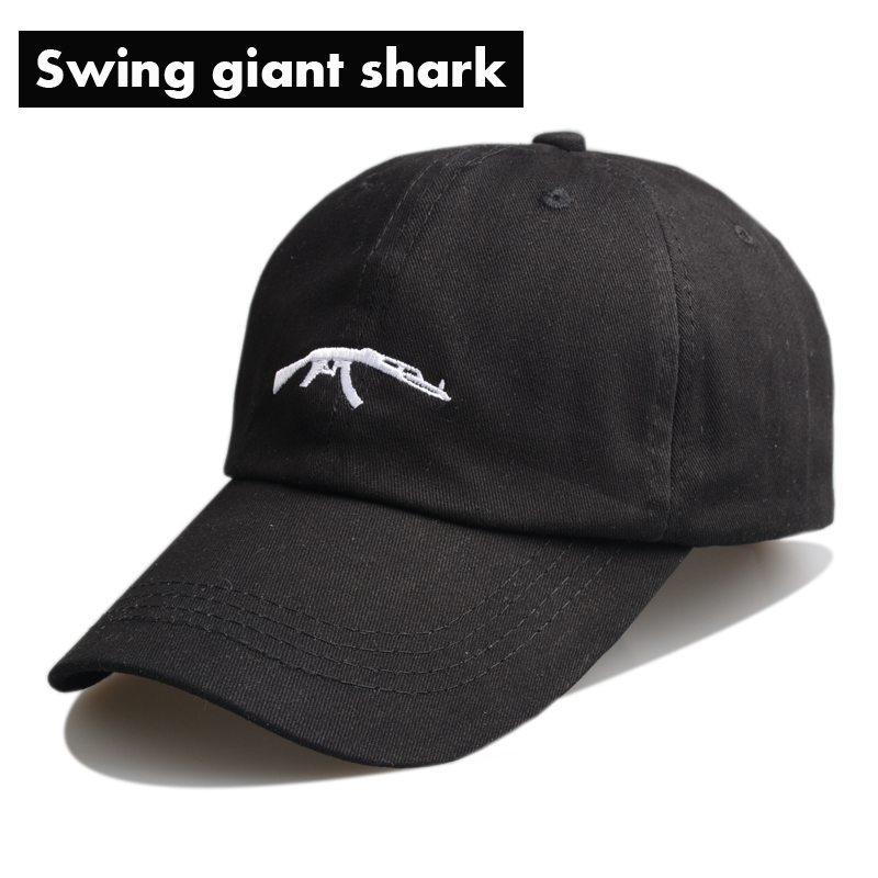 paul and shark baseball hat swing giant font cotton fin cap