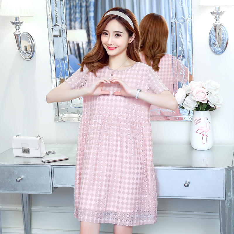 Maternity Dress Plaid Bohemian Pregnancy Clothes Summer Loose Chiffon Pregnancy Clothing Of Pregnant Women Vestidos