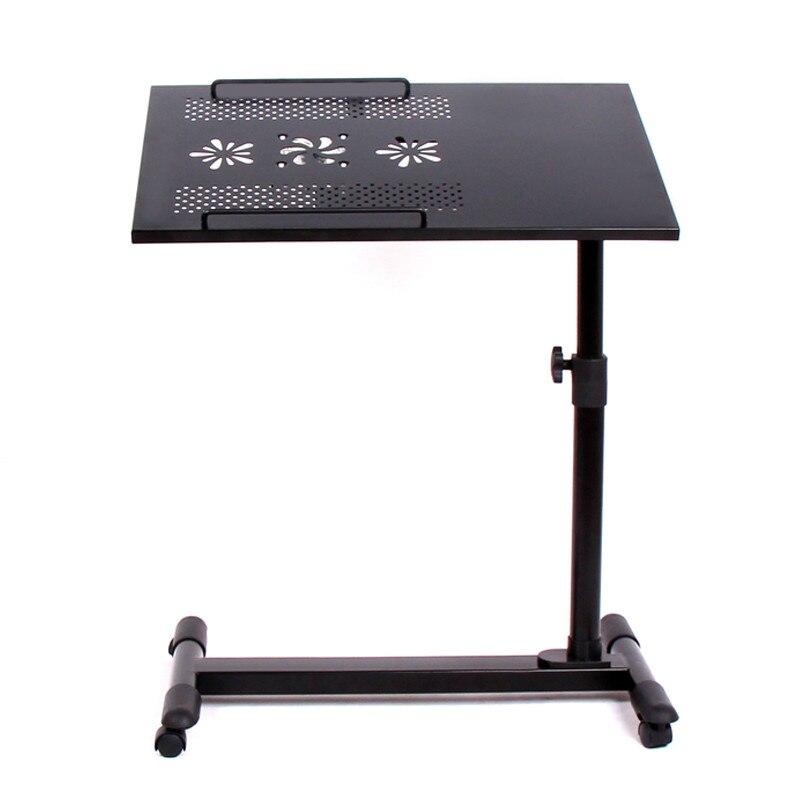 Bureau D'ordinateur bon marché Hauteur Table ajustable pour d'ordinateur portable Pliant Paresseux Portable Ascenseur de Table Table De Chevet Moderne Canapé Bureau Latéral