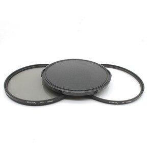 Image 1 - RISE(UK) 105mm Circular Polarizing Filter +UV filter+lens cap For Nikon Canon Pentax Sigma camera