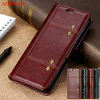 Huawei Honor 8X Vintage Wallet Book Honor 8C Fashion Luxury PU Leather Case  Flip Stand Cover Honor 20 P20 P30 Pro Y6 Y7 Pro 2019