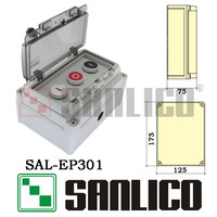 Outdoor New Waterproof Button Control Station SAL XAL EP301 Protection Grade IP67