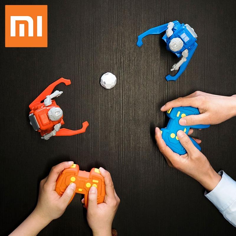 2pcs Original Xiaomi MITU Football Robot Builder DIY Children s Toys Robots Birthday Gifts for Boy