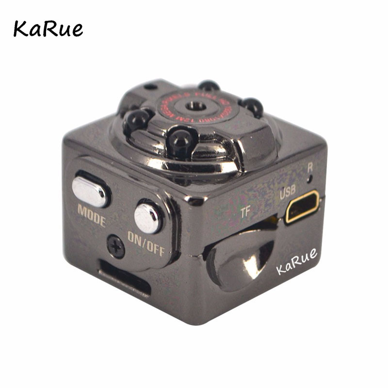 Karue SQ8 HD Mini Camera 12MP Infrared Night Vision Digital Micro Cam Motion Detection Sensor Camcordor Record Helmet outdoor