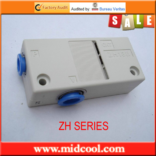 china ZH07BS-06-06 SMC Box type vacuum air ejector scv 20ck rc1 4 vacuum ejector sns pnematic parts vacuum generator smc type