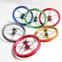 Children Balance Wheel Ultralight 251 g 12 Inch 85-95mm Children Bike Wheel Carbon Fiber Hub Anode Color Balance Bike Wheel wholesale original dlp projector color wheel for acer p1266 color wheel