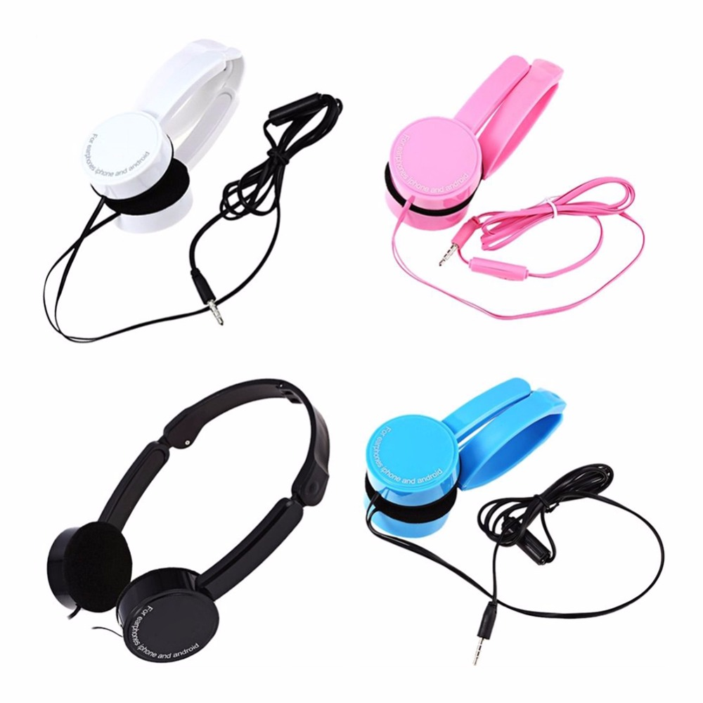 Retractable Over-ear Mic Stereo Surround Bass Headset With Microphone Switching Adjustable Headphones 3.5mm Wired For PC Phones insermore active noise cancelling headphones wired bass stereo surround headset with mic flight headband for iphone xiaomi iq 3