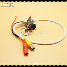 HKES 38pcs/Lot HD 2MP Surveillance AHD Camera Module with BNC Port Cable