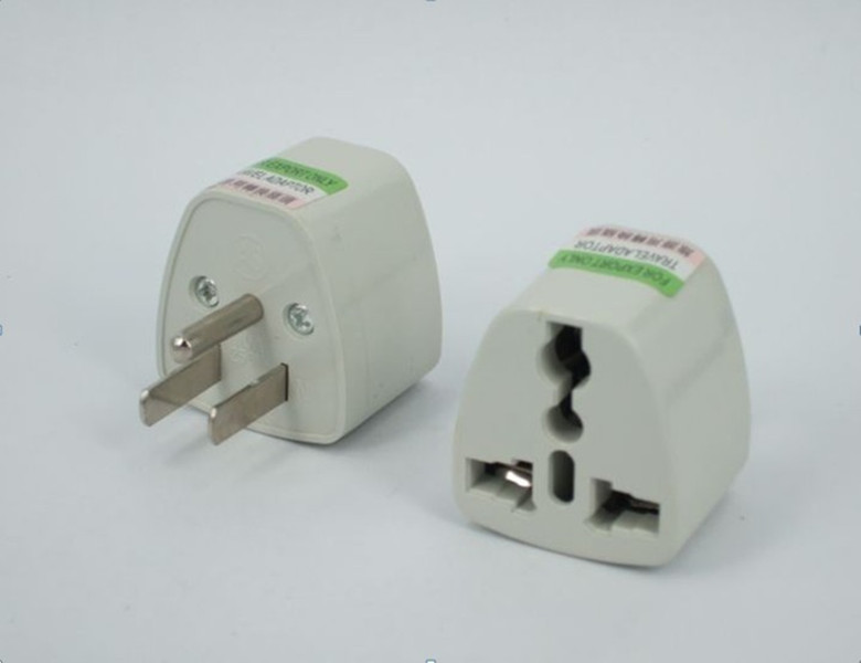 3-Prong Australia Europe UK To US USA Canada Plug Adapter Travel Adaptor