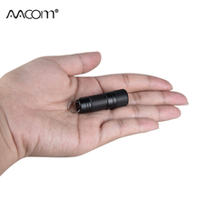 Min Pocket LED Flashlight USB Rechargeable Portable Waterproof  Light Keychain Torch Small Lanterna with 10180 Battery Included