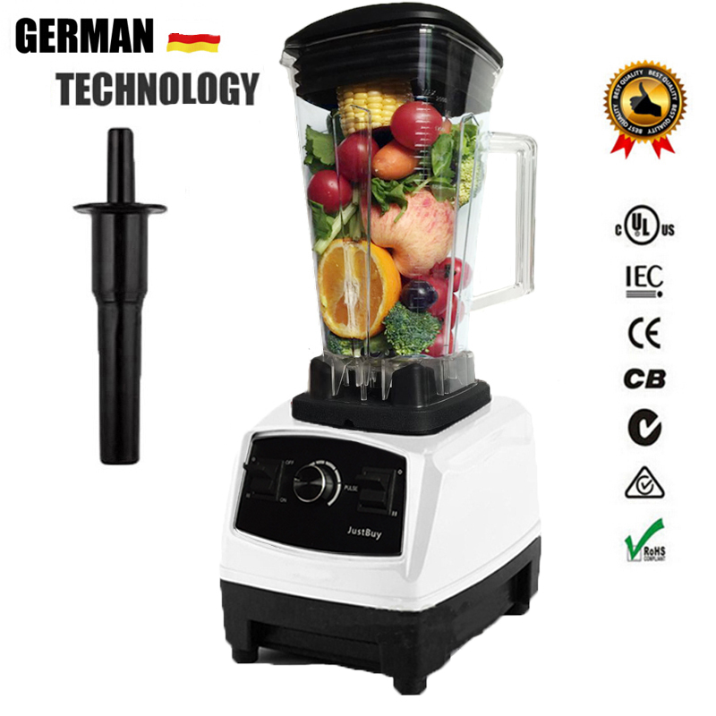 AU/UK/US Plug German Motor Technology BPA FREE heavy duty juicer blender professional mixer food processor G5200 xeoleo 2l heavy duty commercial blender food greater material 2000w food processing machine with pc jar juicer mixer bpa free