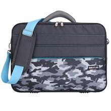 BESTLIFE 14 15.6 Inch Laptop Bag Case Notebook Carrying Men Hard Briefcase Computer Sleeve Notebook Camo Handbag Messenger Bags