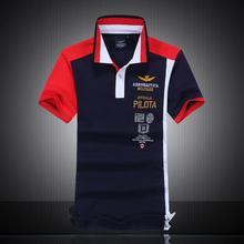 Высокое качество Camisas Masculinas Polo Australian COTTON RETAIL AERONAUTICA MILITARE Мужская рубашка POLO Air Force One вышитая
