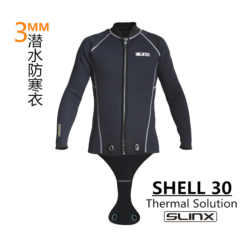 SLINX 2017 Wetsuit 3mm Diving Suit top Swim Jacket Long Sleeve for Snorkeling Spearfishing Kite Keep Warm for Men or Women hot 3mm unisex s 2xl wetsuit sbr cr watersport keep warm sunscreen diving wetsuit suit anti slip lightweight comfortable