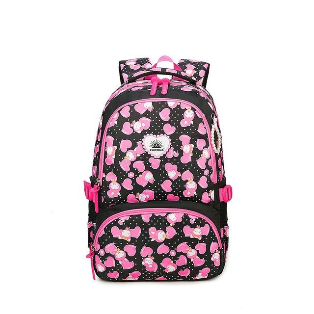 Girls School Bag Waterproof Light Weight Kids Backpack Children Printing  Backpack Primary Bookbag for Girl mochilas 241968c848abe