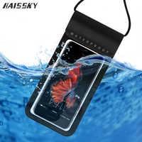 Große Größe Versiegelt Echte Wasserdichte Fall Für iPhone 11 Pro XS Max X XR 7 8 Plus Samsung S10 S9 s8 Hinweis 10 Wasser Beweis Telefon Fall Tasche