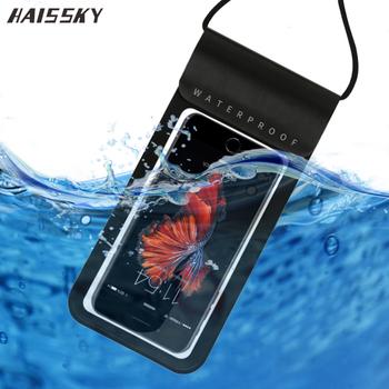 Big Size Sealed prawdziwa wodoodporna obudowa dla iPhone 11 Pro XS Max X XR 7 8 Plus Samsung S10 S9 S8 uwaga 10 wodoodporne etui do telefonu torba tanie i dobre opinie Haissky Pokrowiec 100 sealed water proof Apple iphone ów IPHONE XR Iphone 6 plus iphone xs IPHONE XS MAX IPhone 7 Plus