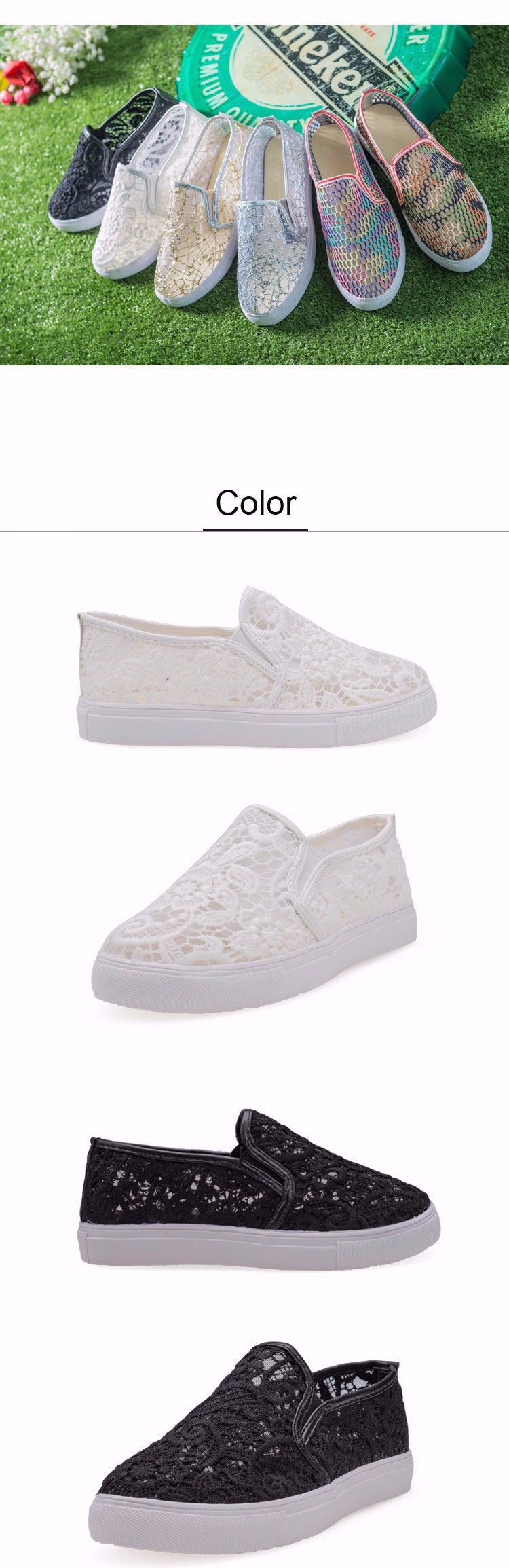 ee4707de9bf DreamShining Latest Design Hollow Out Shoes Fashion Summer Slipony ...