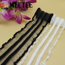 Mesh Elastic Lace Trims Webbing Girls Skirts Soft Skin Stretching Elastic Band For trousersBaby Clothing DIY Sewing Accessories