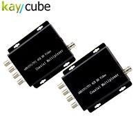 Kaycube 4 канала/AHD/CVI/TVI Камера видео мультиплексор за один коаксиальный кабель подключения 4 CCTV 1080 P 720 P HD аналоговый Камера S повторите