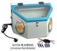 GH709 Универсальный Пескоструйного Аппарата, пескоструйная машина гравировка ювелирных изделий полировки резьба Машины, Изготовление ювели
