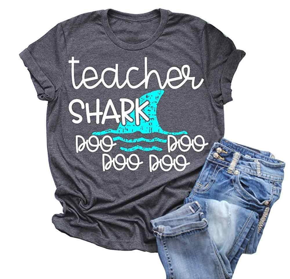 Detail Feedback Questions about Womens Teacher Shark doo doo Shirt