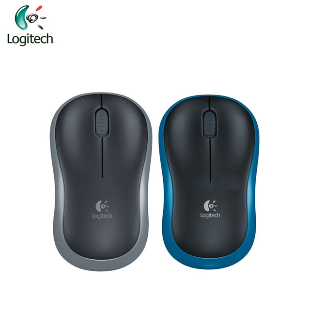 US $11 59 5% OFF|Logitech M185 Wireless Symmetric Design Mouse with USB  Nano Receiver for Windows Mac OS Linux Support Official Test-in Mice from