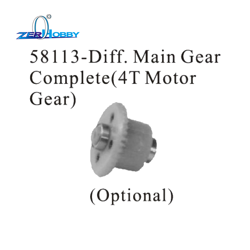 HSP RC CAR ACCESSORIES 58047 DIFF MAIL GEAR COMPLETE 2T MOTOR GEAR 58113 DIFF MAIL GEAR COMPLETE 4T MOTOR GEAR FOR 1 18 94805 in Parts Accessories from Toys Hobbies