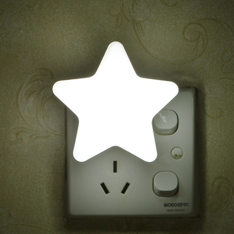 Led Smart Light Sensor Night Light Star Toilet Wc Light Auto Sensor Wall Lamp Bathroom Bedroom Baby Kids Child Lighting