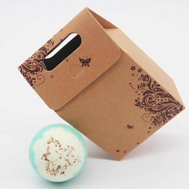 Tsing Bath Bomb 120g sweet Olive Handmade Natural bath bomb Essential Oil Bubble Bath Bomb Box gift set Stress Relief SPA