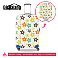 Multicolor Stars Elastic Luggage Protective Dust Covers For 18-30 Inch Travel Suitcase Waterproof Luggager Cover Free Shipping