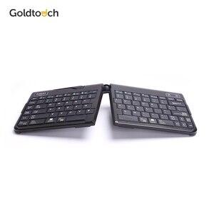 Image 1 - GOLDTOUCH clavier Bluetooth ergonomique sans fil, clavier Portable et pliable à hauteur réglable pour Mac et PC