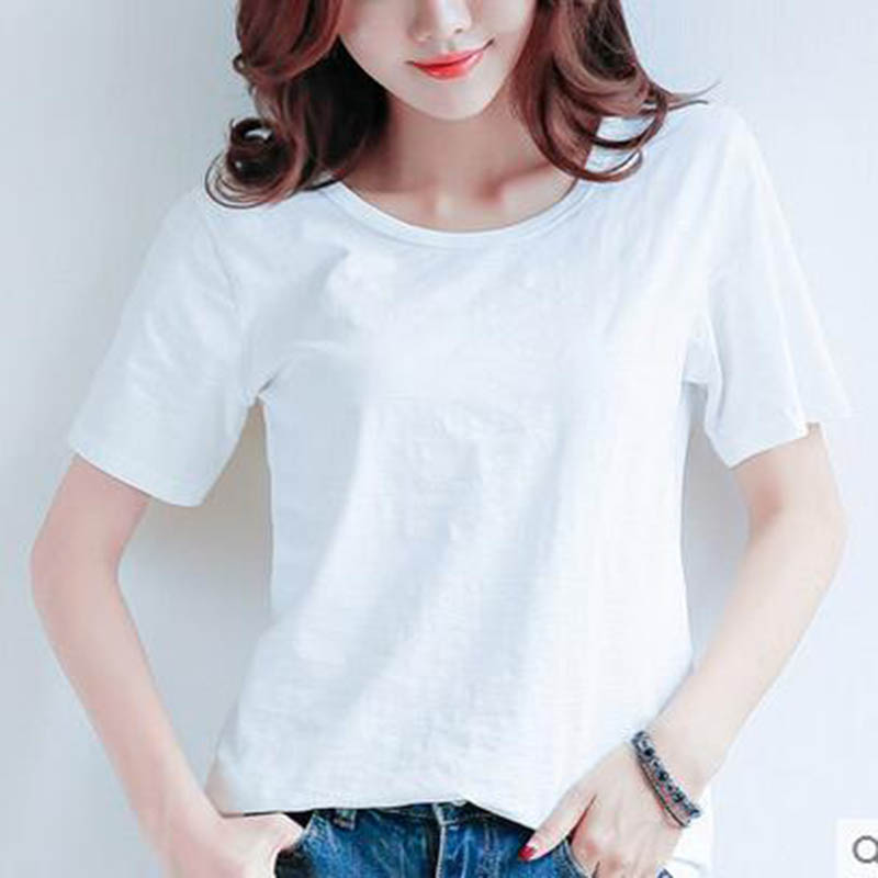 2017 Summer Style Ladies Casual Under Shirt Womens T Shirt Roupas Femininas Short Sleeve Tshirt T
