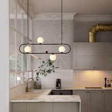 Modern nordic glass ball pendant lights creative LED hanging lamp for bar dining room restaurant Kitchen living room lamp E27 lican nordic restaurant pendant lights dining room bedroom lamp creative personality bar table lights pendant lamp home decors