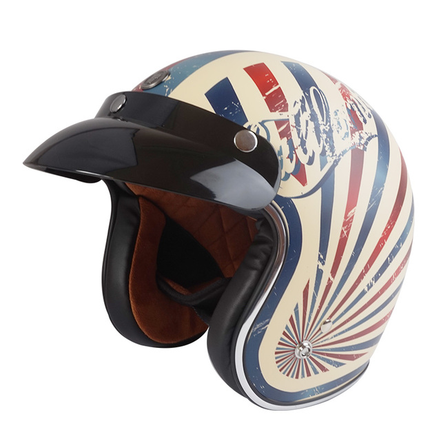 neue torc helm retro vintage motorradhelme chopper harley. Black Bedroom Furniture Sets. Home Design Ideas