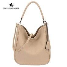 Davidjones Для женщин PU Хобо сумки на плечо топ-handl Посланник Bolsa feminina Bolso Mujer SAC основной tassen