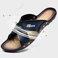 2016 New Arrival Summer Men Sandals Style Men Shoes Casual Flip Flops Men Slippers Beach Shoes 3 Colors