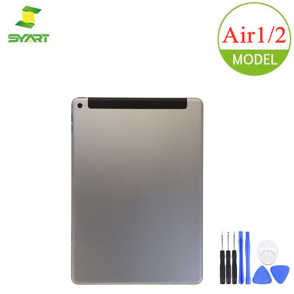 For IPad Air 1 / 2 Wifi / 3G Battery Housing Door OEM Brand New Back Cover Grey Silver Gold Case For IPad Air 1 2 Wifi / 3G