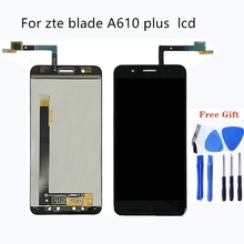 Suitable for zte blade A610 plus A2 plus LCD display and touch screen 5.5 inch mobile phone accessories for zte blade BV0730